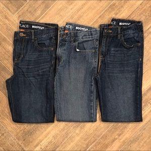 Boys jeans- 3 PAIRS! Children's Place size 12 slim